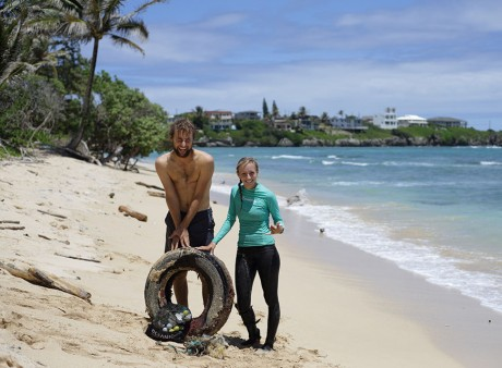 Laniloa Beach Cleanup, Saturday 4/9/2017